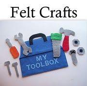 Quiet Book Ideas - tool box