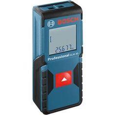 *CLICK TO ENLARGE* Bosch GLM 30 30m Digital Laser Range Finder with Batteries & Protective Bag
