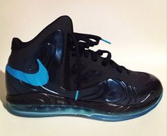 sports shoes d207d f7295 Nike Air Max Hyperposite - Black Blue - Photo posted in Kicks   BX (Sneakers    Clothing)