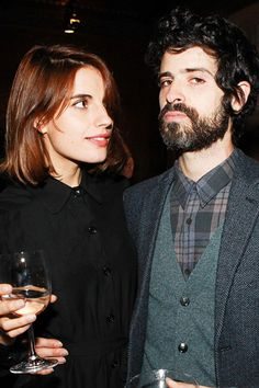Ana Kras and Devendra Banhart.