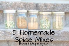 5 Homemade Spice Mixes