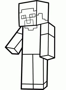 Printable Minecraft coloring Sheep Create your own Minecraft