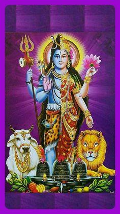 Ambe Maa, Shiv Ji, Lord Vishnu Wallpapers, Lord Shiva Painting, Durga Goddess, Hindu Deities, God Pictures, Indian Gods, Reyes