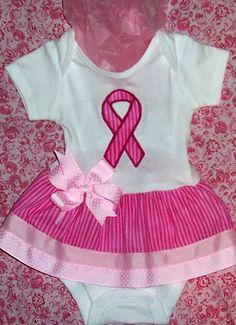 Cute breast cancer awareness tutu!