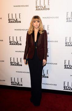 Suki Waterhouse Wearing Burberry at the Elle Style Awards
