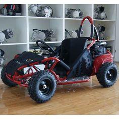 Kids 4 Stroke Petrol Powered Dirt Buggy Go Kart Red | Buy Ride On Toys