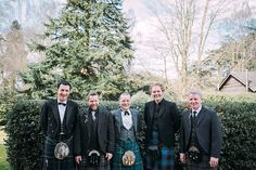 Hampton Manor Wedding Photography men in kilts