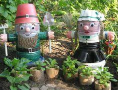 Mobile LiveInternet grandes ideas para manualidades patio! Artesanías de botellas de plástico   Alёnamir - Diario jardinero  