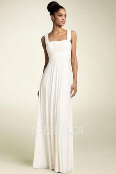 Επίσημη+Θήκη+Πλισέ+Καλοκαίρι+Ελεφαντόδοντο+Βραδινά+φορέματα