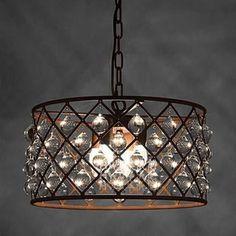 For Hattie 3 Light Rusty Steel 16 Inch Edison Chandelier Get Free