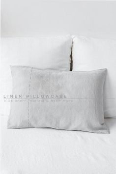 Set of linen Pillowcases. Duvet cover in linen, finished with hand-embroidered stitchingSoft and luxurious.Cool and breathablePair them with our duvet coversEmperor pillow cover: x pillow cover size: x pillow cover size: x Kitchens And Bedrooms, Linen Bedroom, King Pillows, Cover Size, Pillow Covers, Cool Things To Buy, Cool Stuff, Pillowcases, Luxury