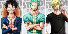 Monster trio/Luffy,Zoro,Sanji/One piece