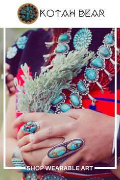 Since we've been helping you find the perfect piece of Native American jewelry or plush blanket. Ahxé'hee' for shopping with us! Native American Fashion, Native American Jewelry, Turquoise Rings, Turquoise Bracelet, Southwestern Jewelry, Southwestern Style, Gifts For Boss, Indian Jewelry, Beaded Earrings