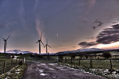 Cumbrian Windfarm HDR