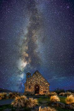 Church of the Good Shepherd, Lake Tekapo, New Zealand - such a beatiful place!