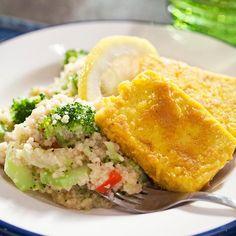 Tofupihvit ja kasviscouscous