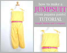 Spring Lookbook: 80's Jumper Restyled (Tutorial) - Simple Simon and Company
