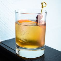 The Inside Job | Nobody will suspect a thing if you just sit quietly and enjoy this sophisticated bourbon cocktail.