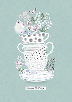 Jenny Wren - Tea-cups