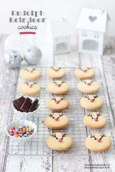 La tana del coniglio: Rudolph Reindeer cookies