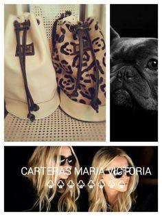 Bolso Love Material: Cuero  Vacuno. Leather Apliques: Dorados Fan page Carteras Maria Victoria