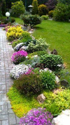 Rozkvetlá zahrada v #interesting #idea #inspiration #creative #goashape