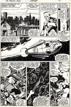 Fantastic Four #234, page 28 by John Byrne & Bob... | John Byrne Draws...