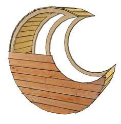 DIY PDF Pallet Half-Moon Cradle • 1001 Pallets • FREE DOWNLOAD