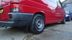 My red 888 SWB van - VW T4 Forum - VW T5 Forum Vw T5 Forum, Camper Van, Wheels, Vans, Nice, Red, Recreational Vehicles, Camper, Van