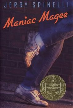 1991 - Maniac Magee by Jerry Spinelli - After his parents die, Jeffrey Lionel Magee's life becomes legendary, as he accomplishes athletic and other feats which awe his contemporaries.