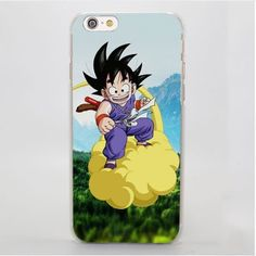 Dragon Ball Goku Kid Ride Nimbus Cloud Vibrant iPhone 4 5 6 7 Plus Case  #DragonBall #Goku #Kid #Ride #Nimbus #Cloud #Vibrant #iPhone #4 #5 #6 #7Plus #Case