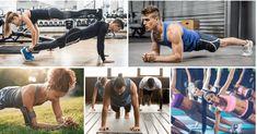 A plank az egyik leghatásosabb gyakorlat, nem időigényes és rövid időn belül segít elérni céljaidat. Nézzétek meg a 47 szórakoztató és hatékony plank variációt. Planking, Trx, Sumo, Health Fitness, Wrestling, Sports, Blog, Lucha Libre, Hs Sports