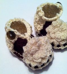 Baby Flower Sandals by HookLineandStinkers on Etsy, $15.00