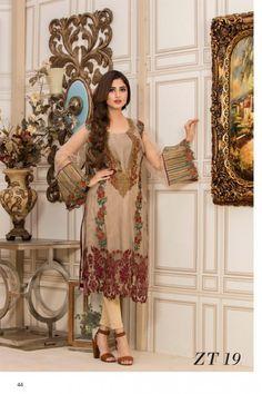 Veena Durrani ZT-19 Kurti 2017 Volume 5 Price in Pakistan famous brand online shopping, luxury embroidered suit now in buy online & shipping wide nation.. #veenadurrani #veenadurranivol5 #veenadurrani2017 #womenfashion's #bridal #pakistanibridalwear #brideldresses #womendresses #womenfashion #womenclothes #ladiesfashion #indianfashion #ladiesclothes #fashion #style #fashion2017 #style2017 #pakistanifashion #pakistanfashion #pakistan Whatsapp:+923452355358 Website: www.original.pk