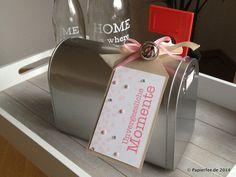 Mailbox, Mädchen, Geburt, Taufe, Baby, Unvergessliche Momente, Süße Pünktchen, Geschenkidee, Glöckchen