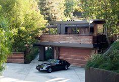 Modern house.