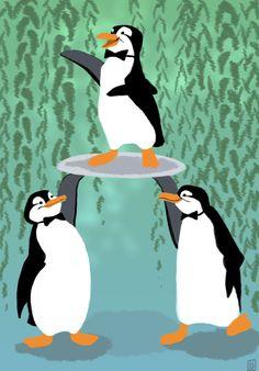 Poppins's Penguins by Reine-Haru on deviantART