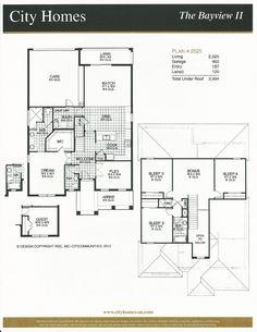 Windermere Terrace City Homes Bayview II Floor Plan in Windermere FL