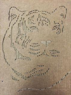 Corrugated Cardboard Art