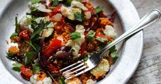 Mediterranean Vegetable Goat Cheese Couscous Salad