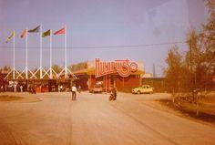 Huvipuiston pääportti 1980-luvulla. #särkänniemi #sarkanniemi #tampere