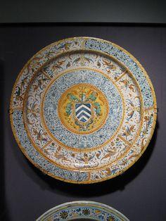 16th century Maiolica Italian dish (UBC).jpg