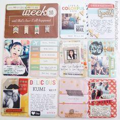 Project Life: Week 30 #scrapbook #projectlife