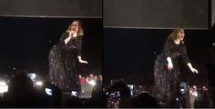 Adele sorprende bailando 'twerking' en concierto #Música