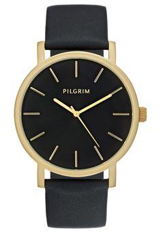 Pilgrim Uhr - gold-coloured/black - Zalando.de