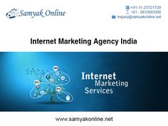 Samyak online services is an internet marketing company in Delhi, India. Our main aim is to develop a successful internet marketing solution through an integrated approach of both design and internet marketing to harness the full potential of the internet for your business.