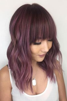 Hair Color 2017/ 2018 Chocolate lilac hair has become trendy these days. Have you already seen all the