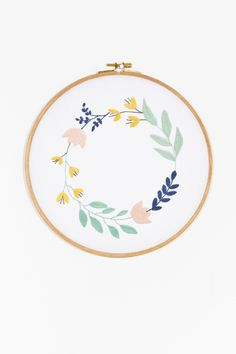 Thread Honey Couronne de Fleurs - Motif