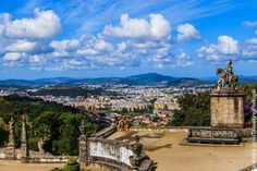 Turismo en Portugal: El santuario de Bom Jesus en Braga