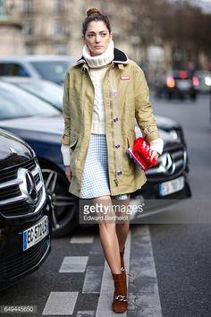 03-08 PARIS, FRANCE - MARCH 07: Sofia Sanchez de Betak... #puertodelaselva: 03-08 PARIS, FRANCE - MARCH 07: Sofia Sanchez… #puertodelaselva